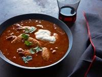 Spicy Mexican Stew w Chicken FInger Dumplings